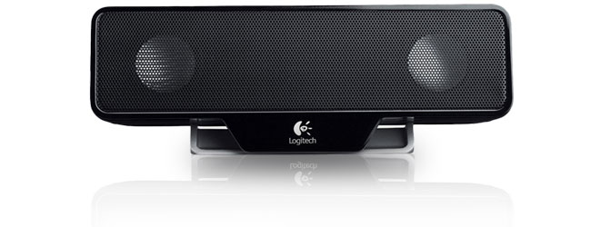 logitech laptop speaker z205 enceinte pc logitech sur. Black Bedroom Furniture Sets. Home Design Ideas