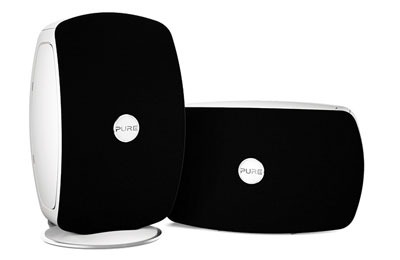 pure jongo t2 noir et blanc dock enceinte bluetooth. Black Bedroom Furniture Sets. Home Design Ideas
