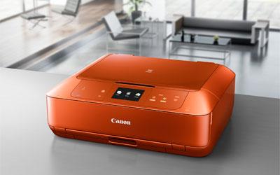 canon pixma mg7550 orange imprimante multifonction canon sur. Black Bedroom Furniture Sets. Home Design Ideas