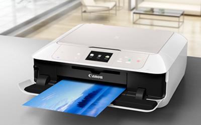 canon pixma mg7550 blanche imprimante multifonction canon sur. Black Bedroom Furniture Sets. Home Design Ideas