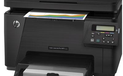 hp color laserjet pro mfp m176n imprimante multifonction hp sur. Black Bedroom Furniture Sets. Home Design Ideas