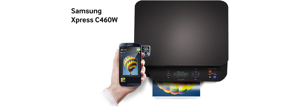 samsung xpress sl c460w imprimante multifonction samsung sur. Black Bedroom Furniture Sets. Home Design Ideas