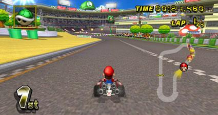 Nintendo mario kart wii pack noir under control balance - Tous les personnages mario kart wii ...