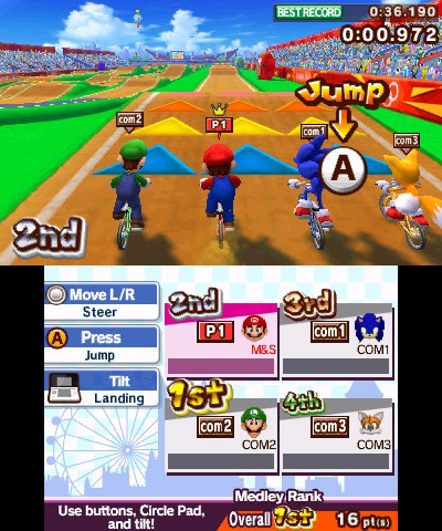 mario sonic aux jeux olympiques de londres 2012 nintendo 3ds jeux nintendo 3ds sega sur. Black Bedroom Furniture Sets. Home Design Ideas