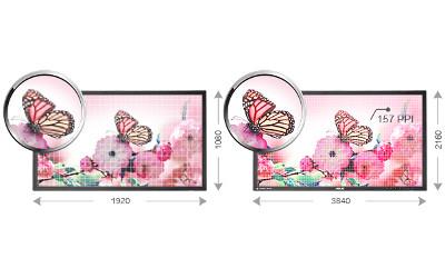 "ASUS 28"" LED - PB287Q 3840 x 2160 pixels - 1 ms 1 optimark"