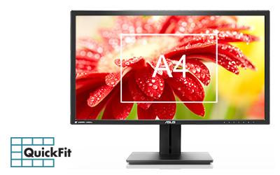 "ASUS 28"" LED - PB287Q 3840 x 2160 pixels - 1 ms 4 optimark"
