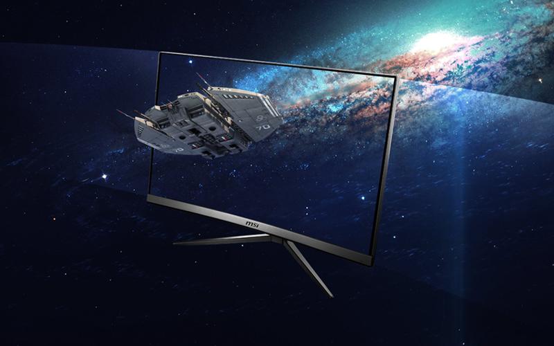 """MSI 24"""" LED 144 HZ- Optix MAG241C 1920 x 1080 pixels - 1 ms 3 optimark"""