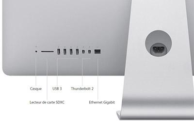 Apple imac avec cran retina 5k mf885f a 16go 3to for Ecran pc 5k