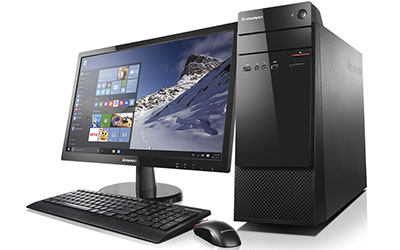 lenovo thinkcentre s200 tour 10hq000gfr achat ordinateur de bureau lenovo pour. Black Bedroom Furniture Sets. Home Design Ideas