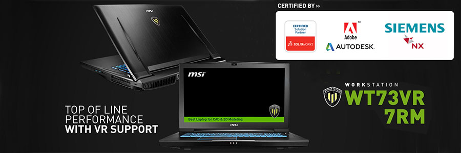 msi wt73vr 7rm 633fr pc portable msi sur. Black Bedroom Furniture Sets. Home Design Ideas