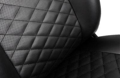 Noblechairs icon noir noir fauteuil gamer noblechairs sur ldlc