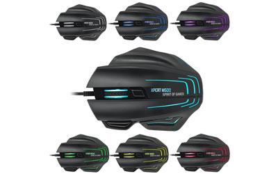 Spirit of Gamer souris gaming  Xpert-M500 8000 Dpi 1 optimark