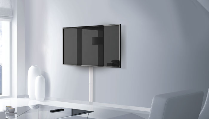 Meliconi Kit 400s Cable Management Support Mural Tv
