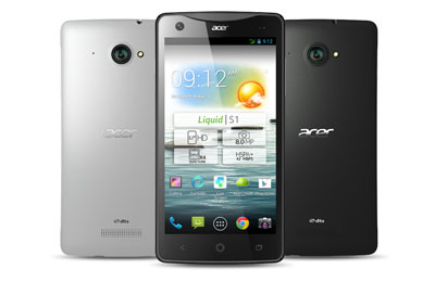 acer liquid s1 duo rock black mobile smartphone acer sur. Black Bedroom Furniture Sets. Home Design Ideas