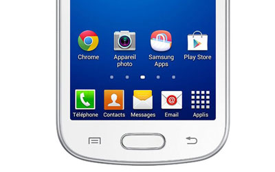 Samsung galaxy trend lite gt s7390 rouge mobile smartphone samsung sur - Samsung galaxy trend lite smartphone ...