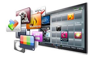 Un divertissement infini avec Internet@TV