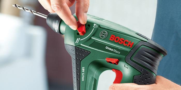 bosch perforateur 3 en 1 sans fil uneo maxx bricolage bosch sur maginea. Black Bedroom Furniture Sets. Home Design Ideas