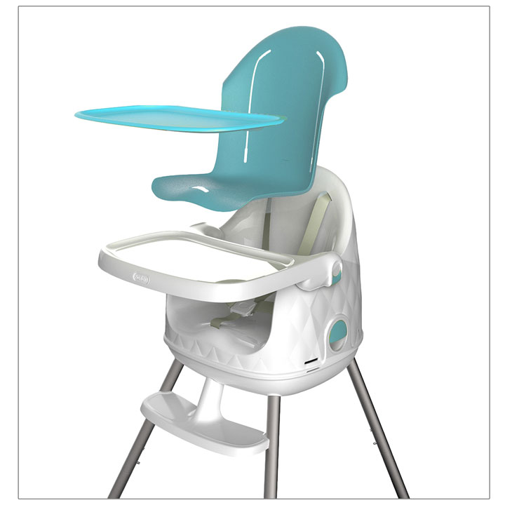 Babytolove chaise haute multi dine bleu chaise haute - Chaise haute 4 mois ...