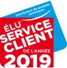 Elu Service Client de l'Année 2019