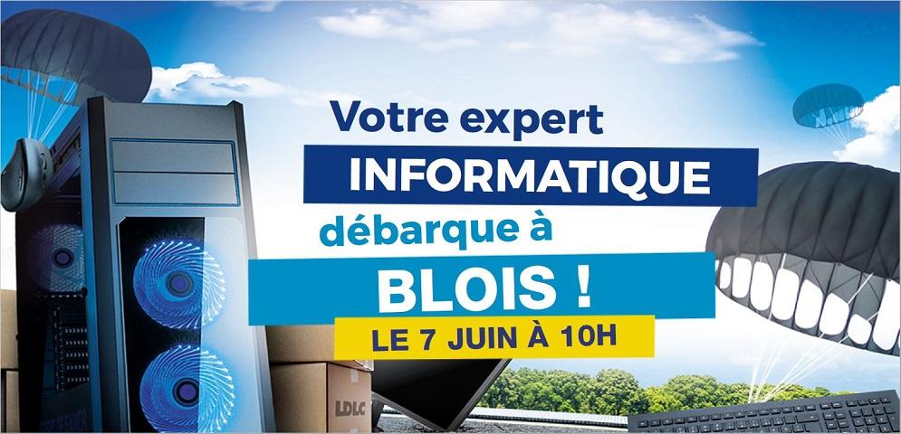 Boutique de matériel et réparation informatique LDLC Blois