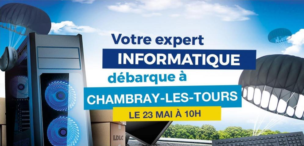 Boutique de matériel et réparation informatique LDLC Chambray-lès-Tours