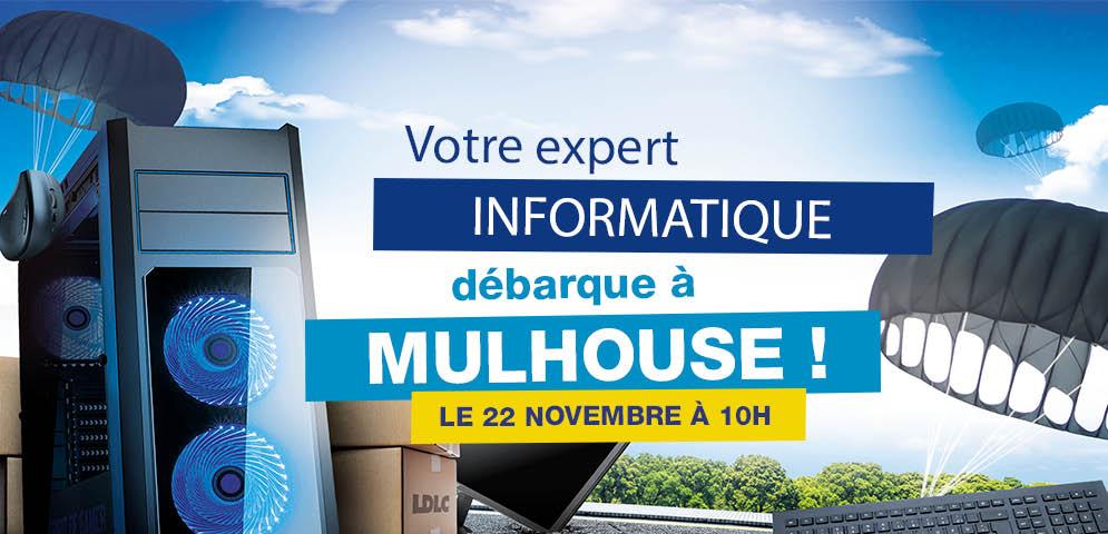 Boutique de matériel et réparation informatique LDLC Mulhouse Wittenheim