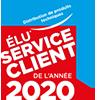 Élu Service client de l'année 2020