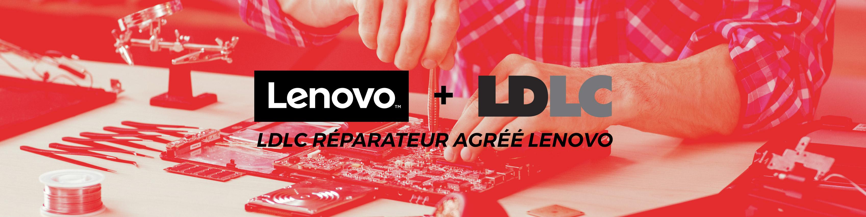 LDLC réparateur agréé Lenovo
