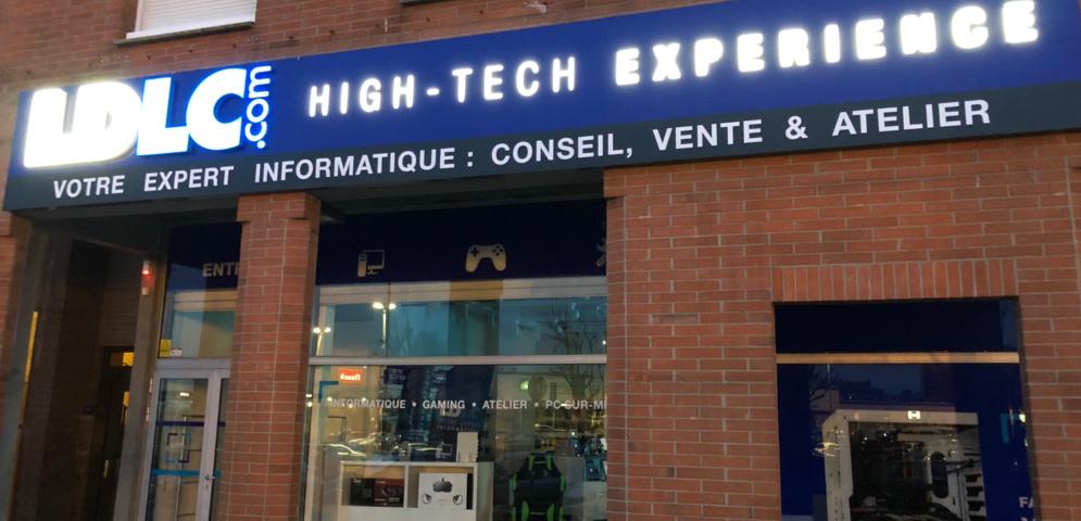 Boutique de matériel et réparation informatique LDLC Villeneuve d'Ascq
