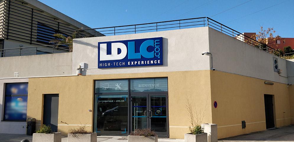 Boutique de matériel et réparation informatique LDLC Grasse