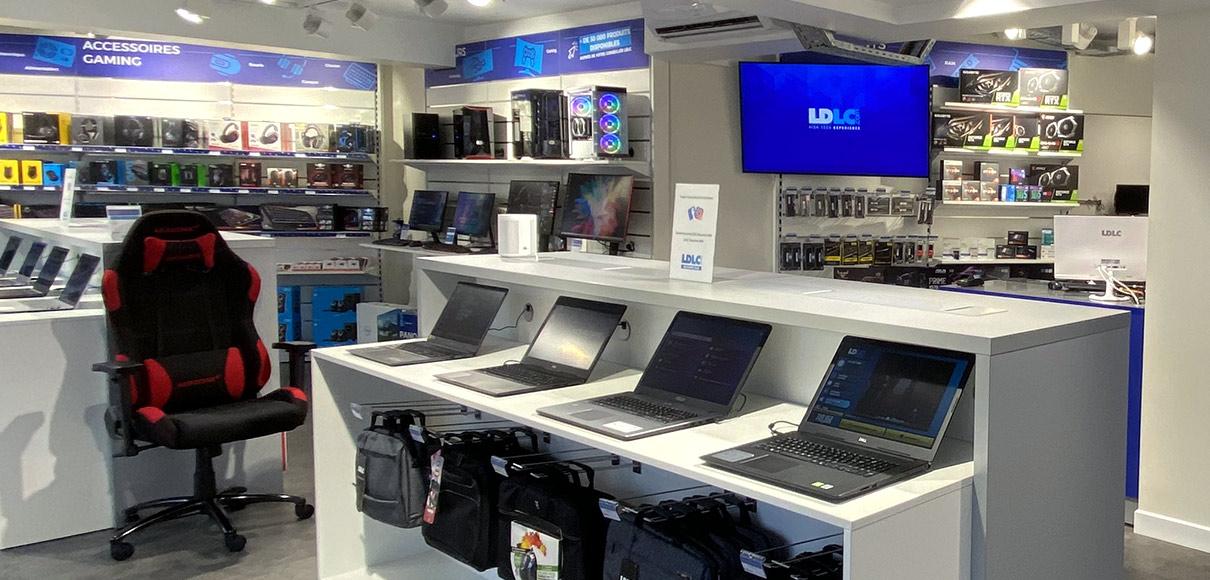 Boutique de matériel et réparation informatique LDLC Bayonne BAB