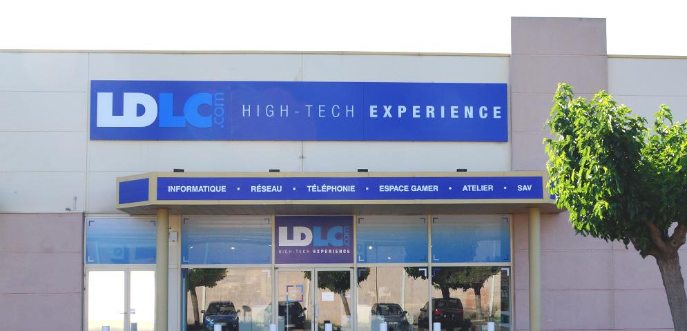 Boutique de matériel et réparation informatique LDLC Avignon Mistral 7