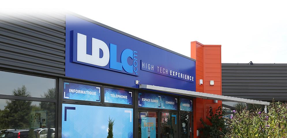 Boutique de matériel et réparation informatique LDLC BOURGOIN-JALLIEU