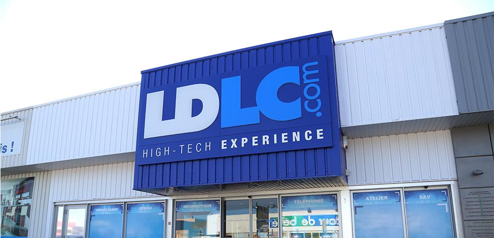 Boutique de matériel et réparation informatique LDLC Dijon Quetigny
