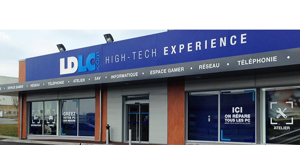 Boutique de matériel et réparation informatique LDLC