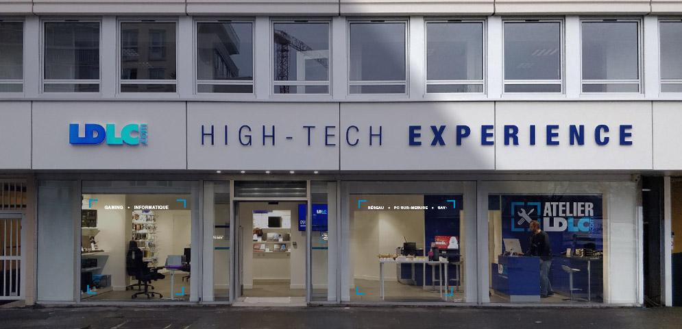 Boutique de matériel et réparation informatique LDLC Rennes Colombier