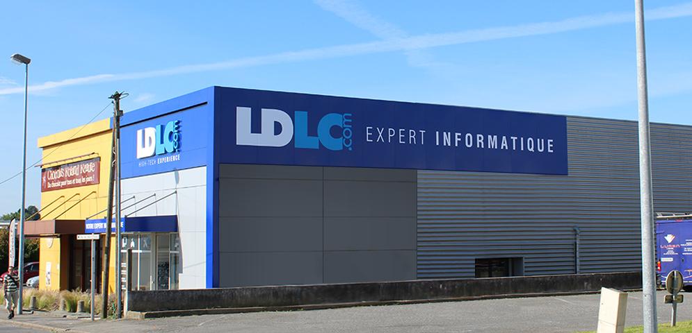 Boutique de matériel et réparation informatique LDLC Rennes St-Grégoire