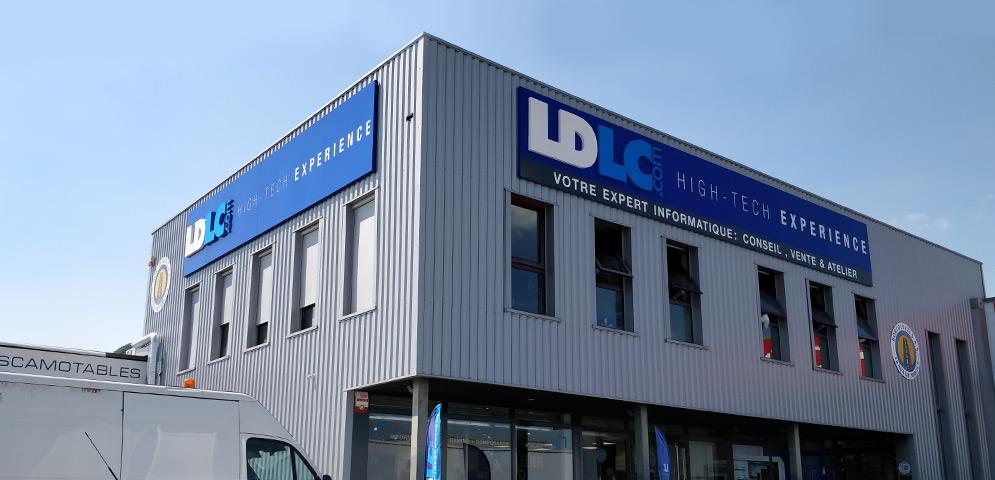 Boutique de matériel et réparation informatique LDLC Annecy Epagny