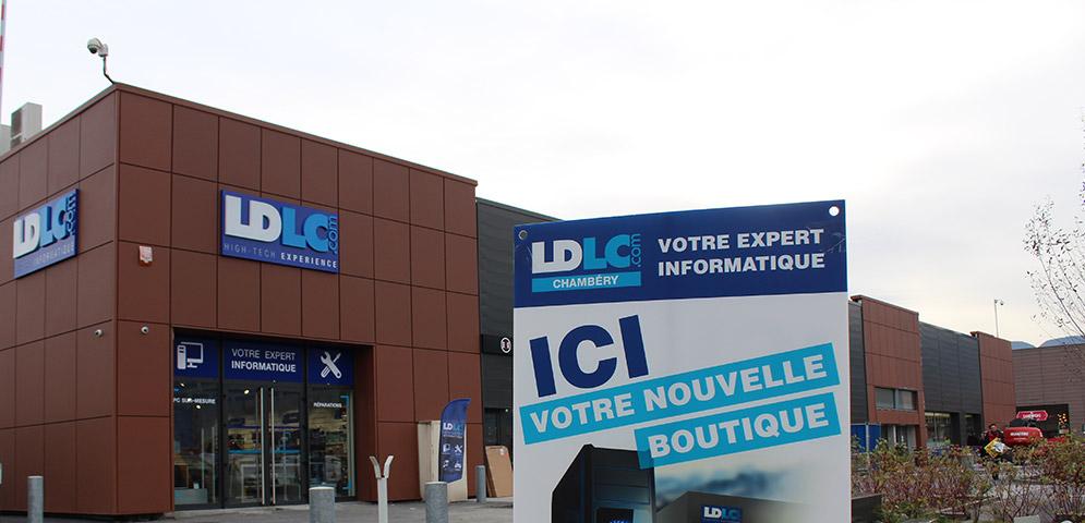 Boutique de matériel et réparation informatique LDLC Chambéry