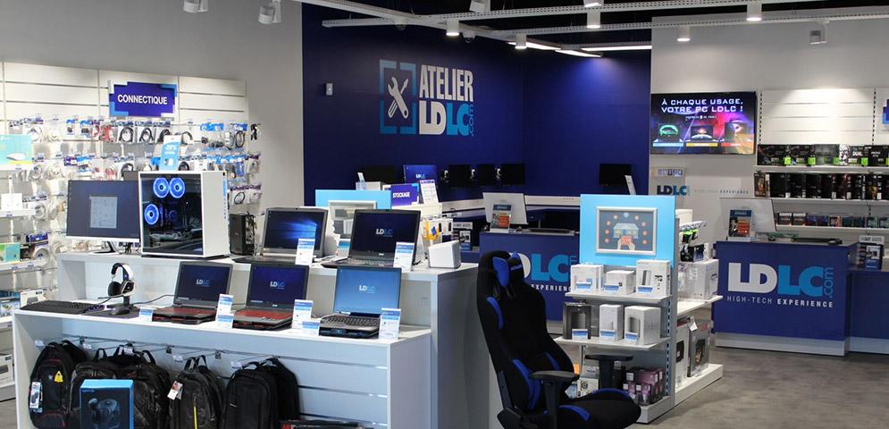 Boutique de matériel et réparation informatique LDLC Hénin-Beaumont