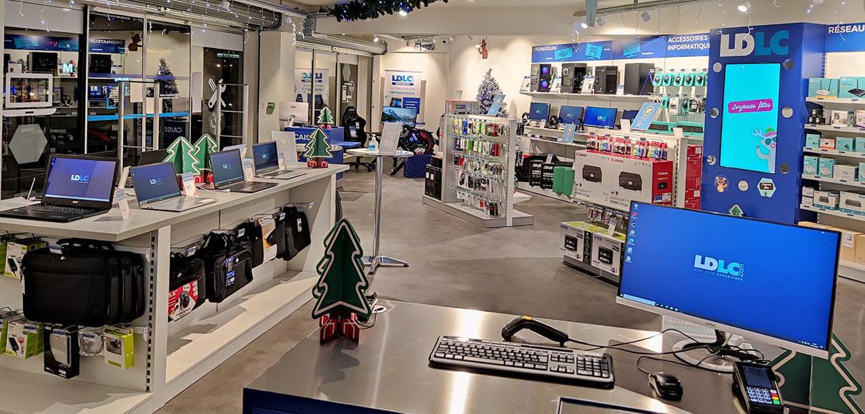 Boutique de matériel et réparation informatique LDLC Besançon