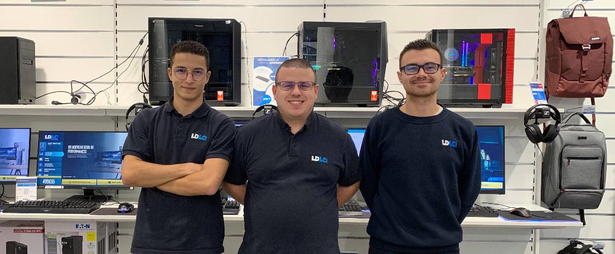 Boutique de matériel et réparation informatique LDLC Vienne