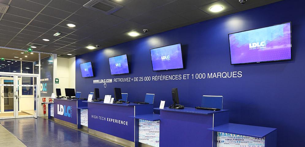 Boutique de matériel et réparation informatique LDLC Lyon