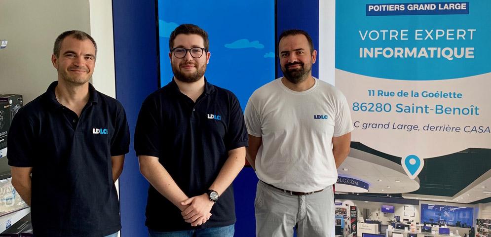 Boutique de matériel et réparation informatique LDLC Poitiers Grand Large