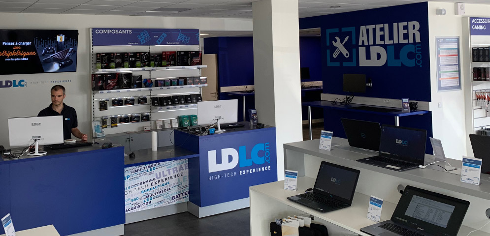 Magasin informatique Poitiers Grand Large