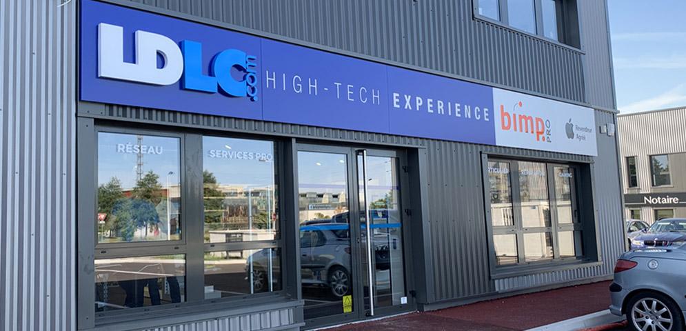 Boutique de matériel et réparation informatique LDLC Bourg-en-Bresse