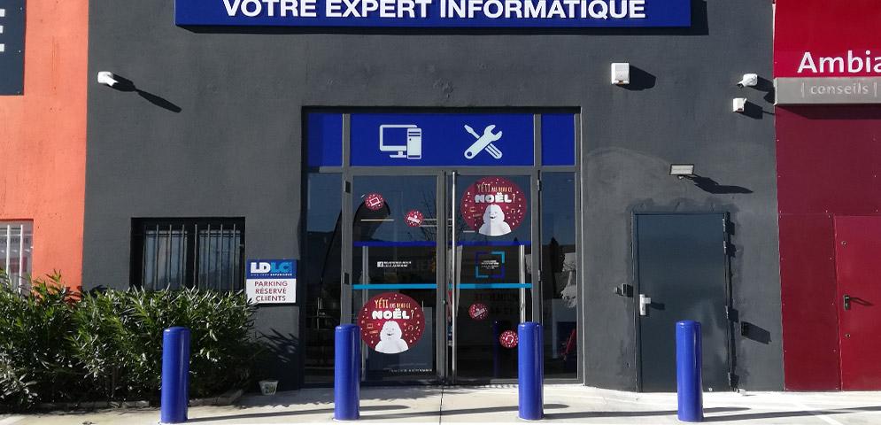 Boutique de matériel et réparation informatique LDLC Aubagne