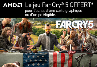 Far Cry 5 offert avec AMD