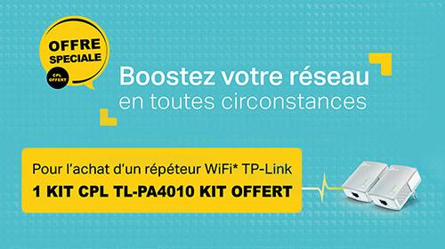 Kit CPL TP-Link TL-PA4010 KIT offert