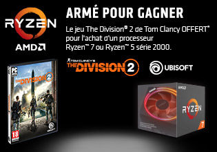 Tom Clancy's The Division 2 offert avec AMD